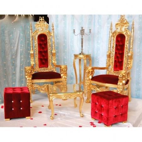 Wedding trone