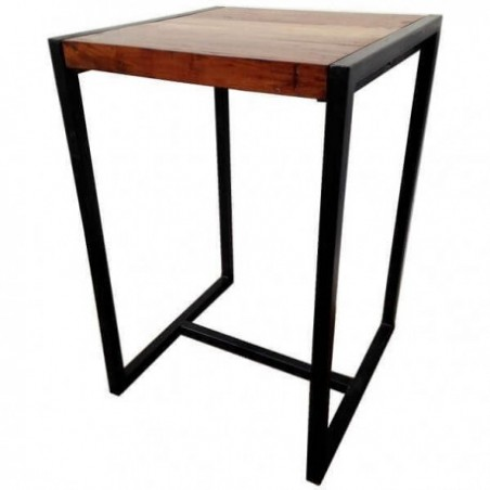 Table rental high metal and wood