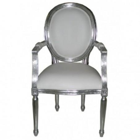 Medallion armchair