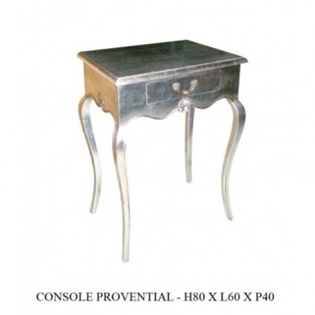 Rent Baroque Wooden Console Argente Proventiale