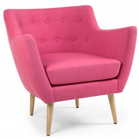 Rent pink armchair