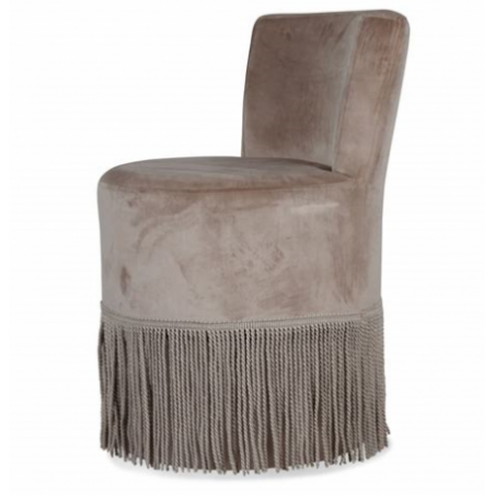 Fringe armchair rental