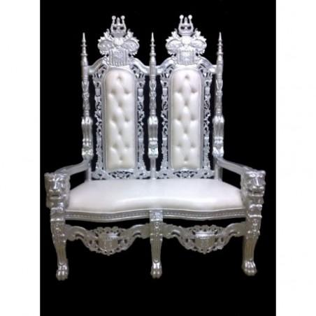 Throne armchair 2 seats wedding