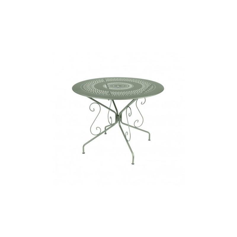 Garden table rental style year 1900 diameter 77 cm