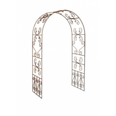 Wrought iron garden arch rental