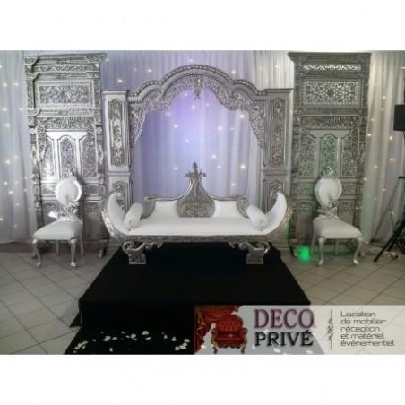 Oriental wedding decor