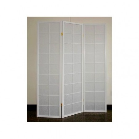 White folding screen rental