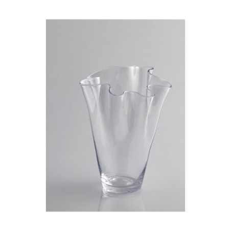 Transparent glass vase for rent