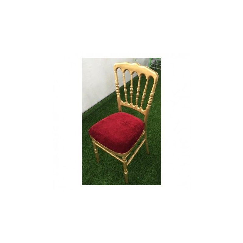 Golden Napoleon chair for rent