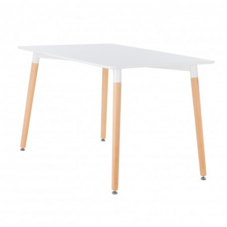 Scandinavian style dining table for rent