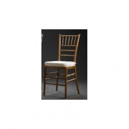 Golden Chiavari reception chair rental