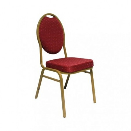Red banquet chair for rent