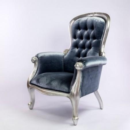 Gray armchair rental