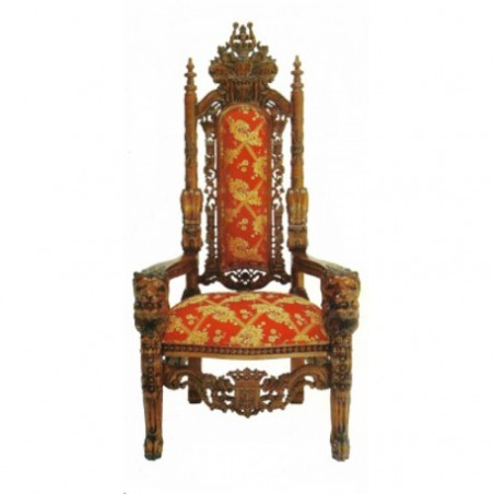Throne medieval style