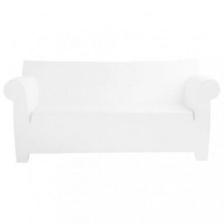 Starck white sofa rental