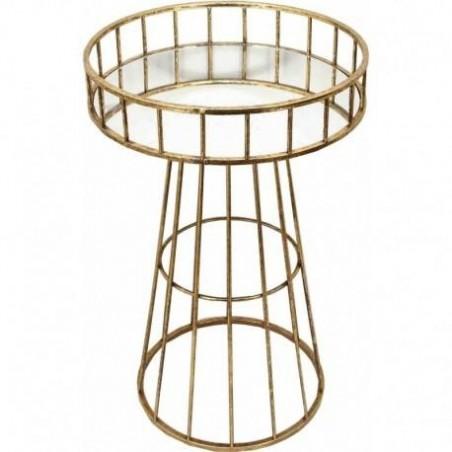 Pedestal table style art deco
