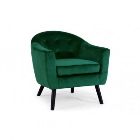 Scandinavian style green armchair rental