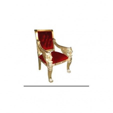Rent red armchair