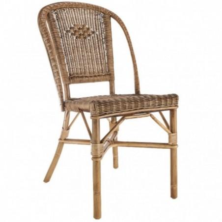 Natural rattan chair rental
