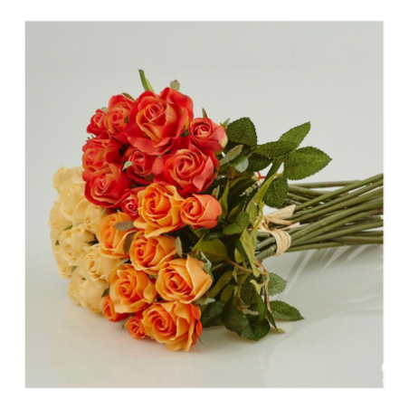 Artificial roses for rent