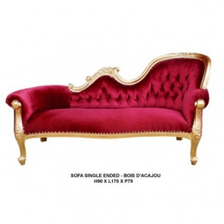 Golden bench