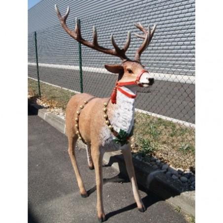 Santa's reindeer sleigh rental