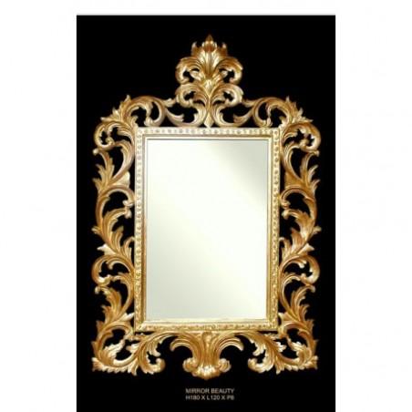 Golden mirror rental