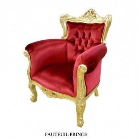 Red wedding trone