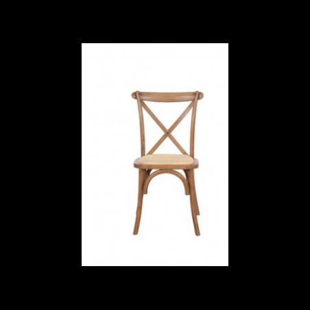 Wooden bistro chair