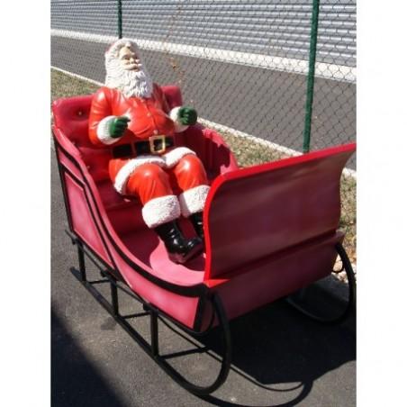 Sleigh Santa Claus Hire
