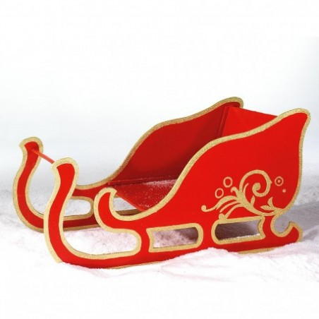 Luge of Santa Claus for rent decorative