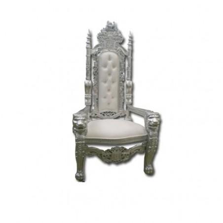 Lion head wedding throne