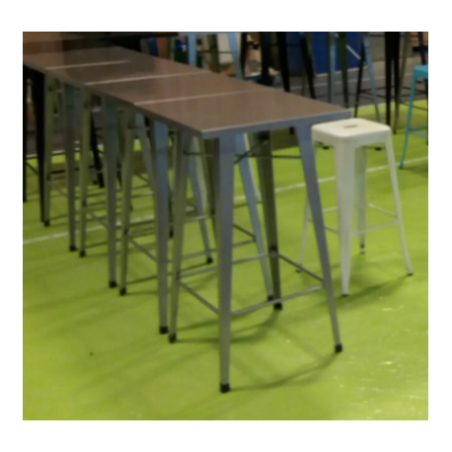 Industrial style high table
