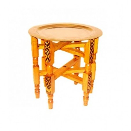Moroccan table and tray rental
