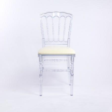 Crystal Napoleon Chair