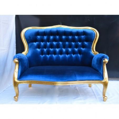 Rent blue banquette