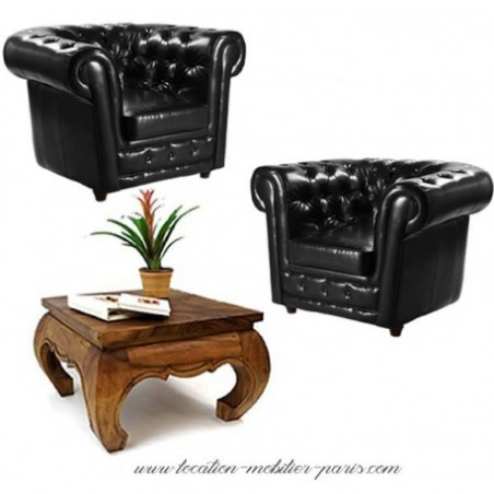 Leather armchair rent