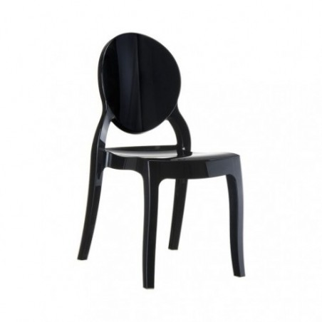 Black medallion chair rental