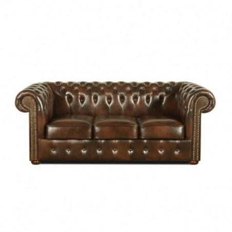 Chesterfield 3 seater sofa rental