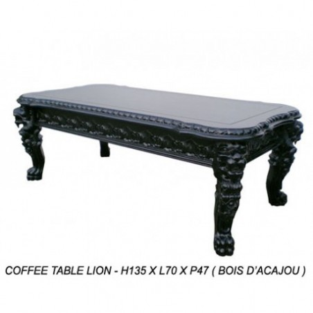Black table rental