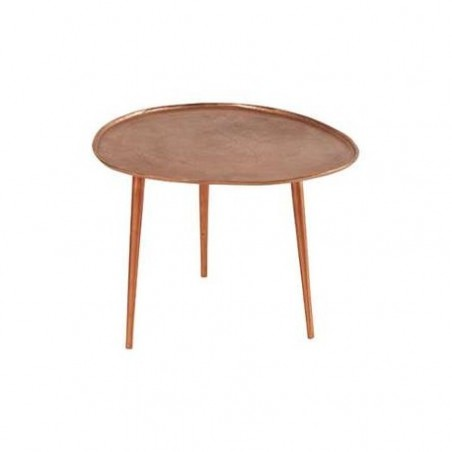 Copper coffee table rental