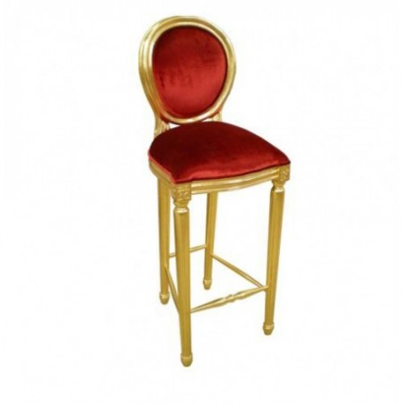 Golden bar chair