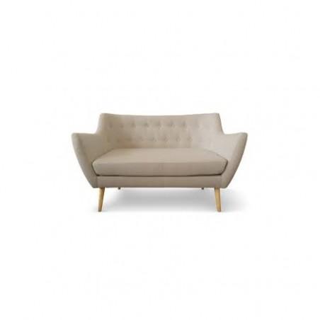 Scandinavian style 2 seater sofa