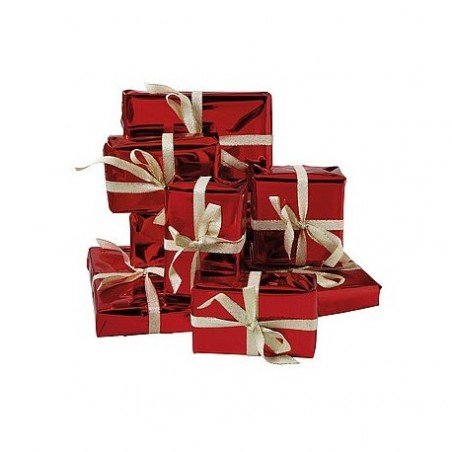Empty gift packages