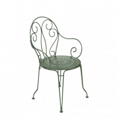 Wrought iron garden armchair rental