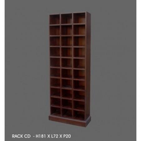 Mahogany cd cabinet