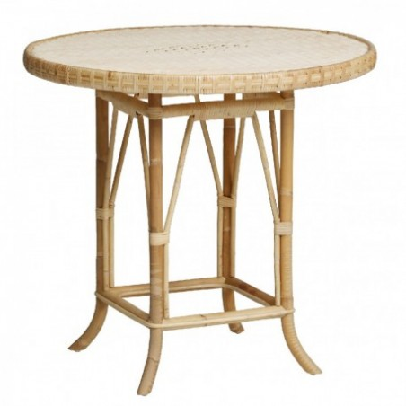 Rattan table stand rental