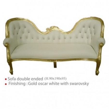 Golden style sofa