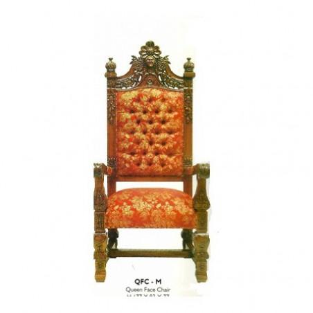 Mahogany style armchair
